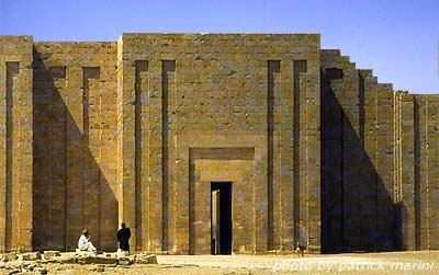 Ingresso al complesso funerario di Zoser