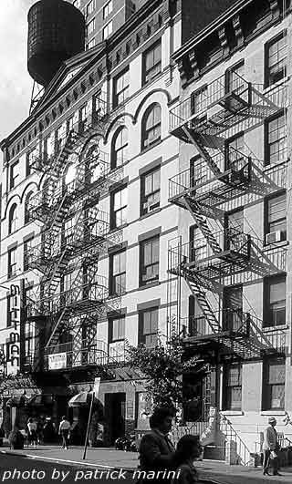 NY Fire stairs