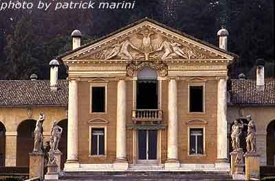 Villa Barbaro, corpo centrale