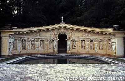 Villa Barbaro, fontana