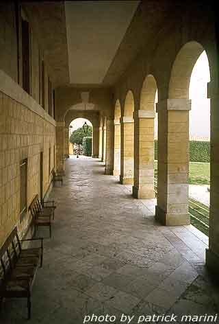 Villa Barbaro, porticato